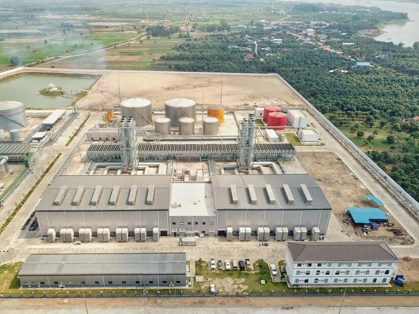 مان إنرجي- الغاز المسال - كمبوديا