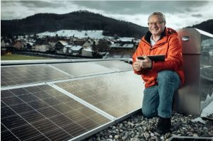 مشروعات شمسية على أسطح المنازل