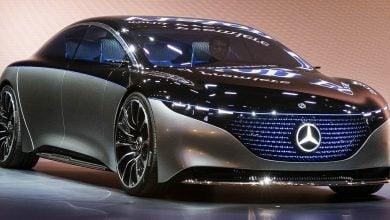 "Photo of مرسيدس بنز ""إي كيو إس"".. سيارة كهربائية تنافسية فارهة"