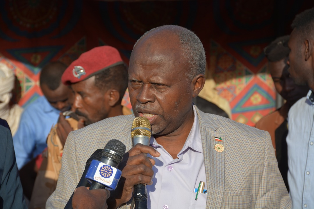 وزير الطاقة السوداني جادين - حقل سفيان النفطي