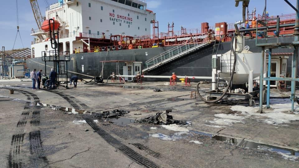 ميناء طرابلس النفطي