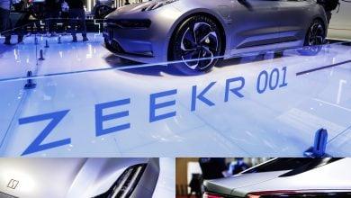 Photo of معرض شنغهاي.. نماذج مبهرة للسيارات الكهربائية (صور)