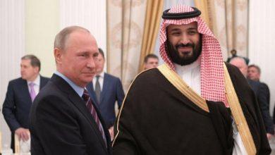 Photo of ولي العهد السعودي وبوتين يبحثان مبادرة الشرق الأوسط الأخضر