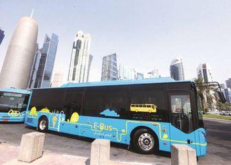 قطر - حافلات كهربائية لنقل مشجعي كأس العالم