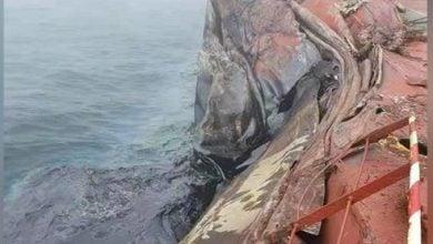 Photo of تسرب نفطي من ناقلة تحمل مليون برميل قبالة الصين