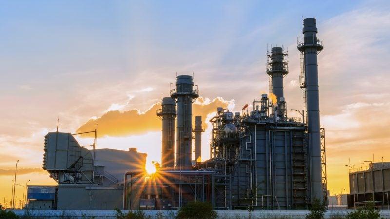 محطة لتوليد الكهرباء من الغاز الطبيعي - شركات الطاقة