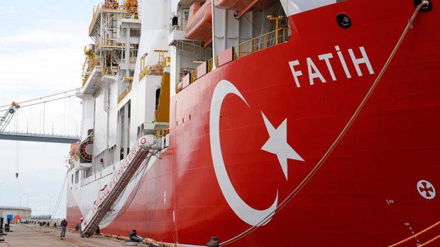 سفينة التنقيب عن النفط التركية - تركيا