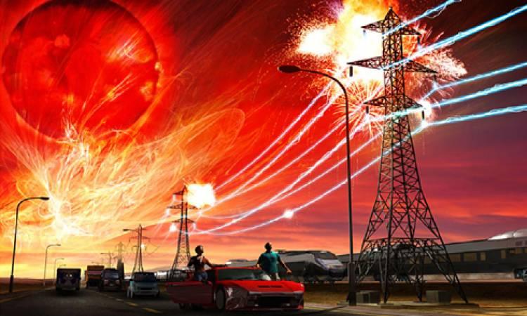 العواصف الشمسية تهدد شبكات الكهرباء