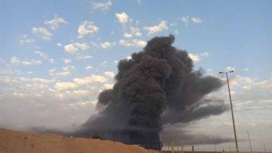 Photo of حريق هائل في مصنع موفليدان الإيراني للصناعات الكيماوية (فيديو)