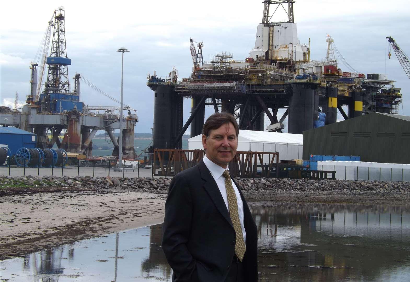 """الهيدروجين الأخضر - الرئيس التنفيذي لميناء كرومارتي فيرث """"بوب بوسكي"""""""