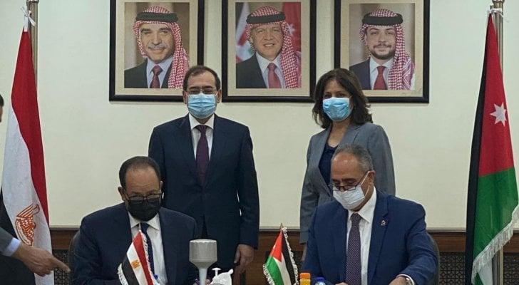 اتفاقيات جديدة في الغاز بين مصر والأردن