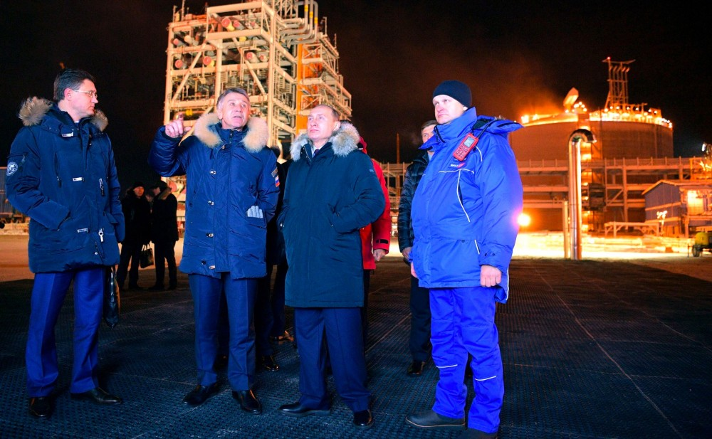 بوتين - الغاز المسال
