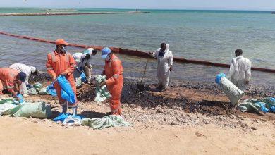 Photo of تلوث نفطي يهدد إحدى مناطق الشعاب المرجانية في مصر