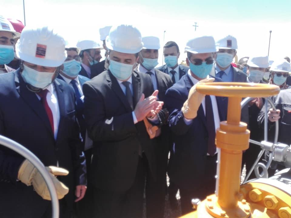 الجزائر تدشن مشروع لتصدير الغاز إلى أوروبا