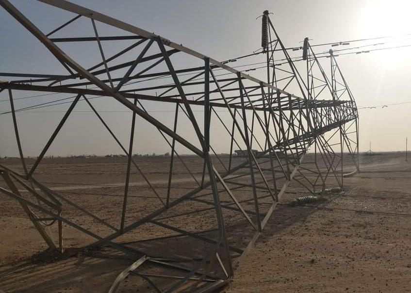 أزمة الكهرباء في العراق - تفجيرات