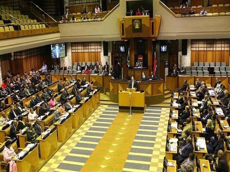 إحدى جلسات برلمان جنوب أفريقيا - أرشيفية