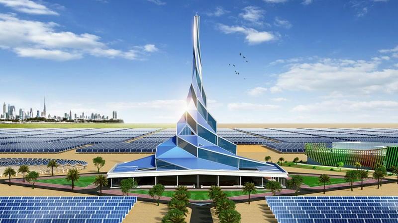 إنتاج الهيدروجين الأخضر في مجمع محمد بن راشد