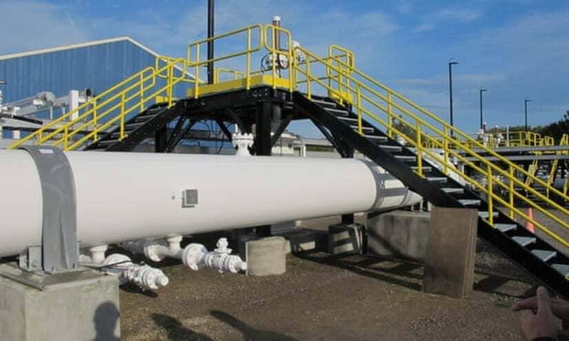 خط أنابيب النفط- كندا- ميشيغان