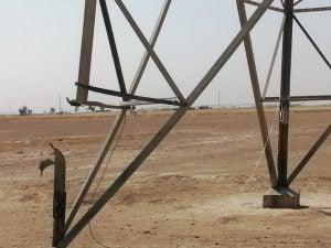 تفجيرات خطوط الكهرباء في العراق