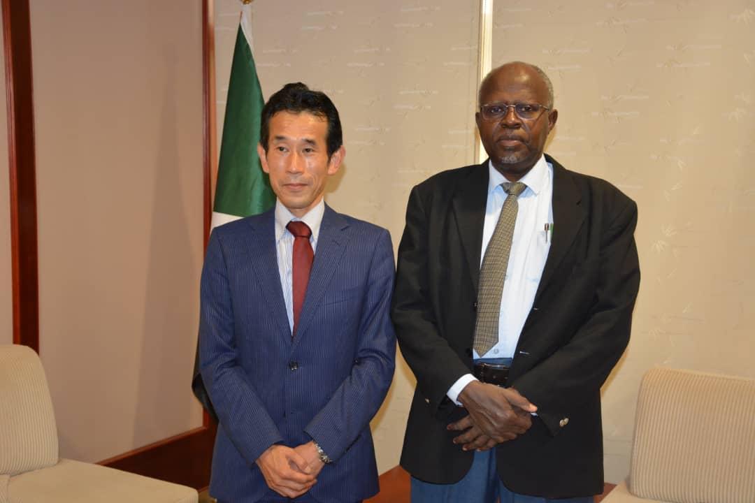 اليابان - السودان