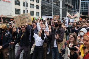 إضراب ضد تمويل الغاز في أستراليا