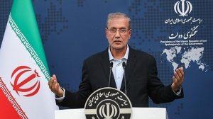 المتحدث باسم الحكومة الإيرانية علي ربيعي - محادثات فيينا