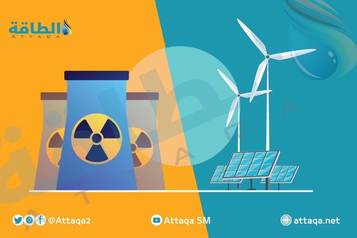 الطاقة النووية والطاقة المتجددة