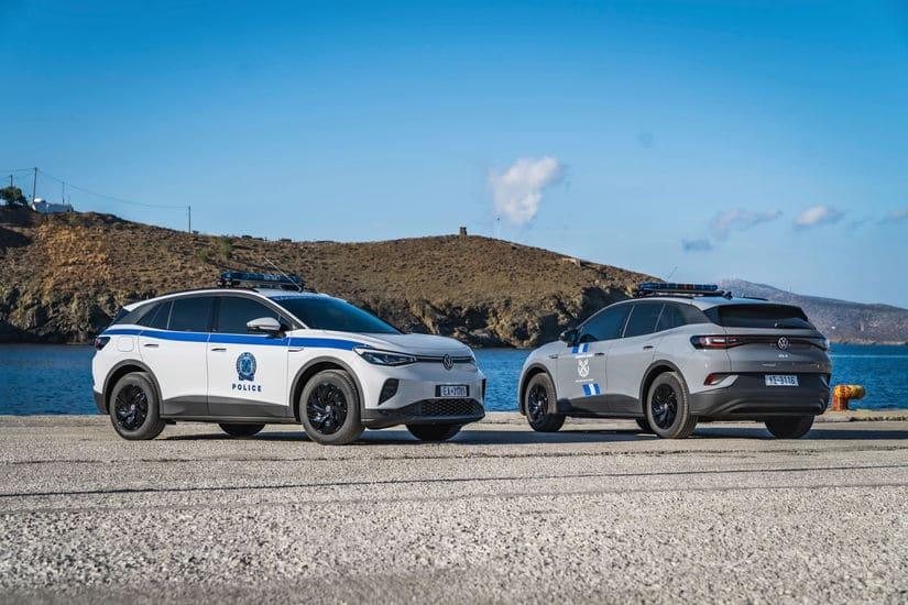 فولكس فاغن - سيارات كهربائية للشرطة