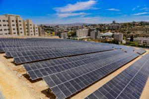محطة الطاقة الشمسية لجامعة بيرزيت