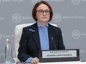 محافظ البنك المركزي الروسي، إلفيرا نابيولينا