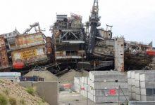 """Photo of تحديث - اللقطات الأولى لتفجير منصة """"نينيان نورثرن"""" في بحر الشمال (فيديو)"""