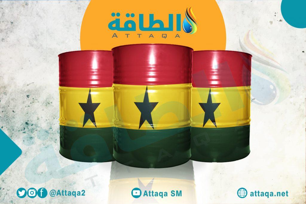 النفط والغاز في غانا