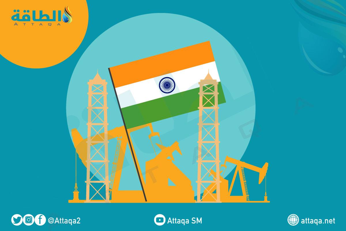 قطاع النفط والغاز في الهند