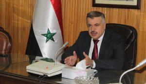 وزير الكهرباء السوري غسان الزامل