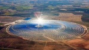 مجمع نور ورزازات للطاقة الشمسية في المغرب