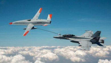 Photo of الأولى من نوعها.. طائرة دون طيار تزوّد مقاتلة أميركية بالوقود (فيديو)