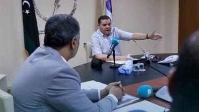 "Photo of رئيس الحكومة الليبية يعنف مسؤولي الكهرباء: ""صَدَقْتُ ما يقوله المواطنون عنكم"" (فيديو)"