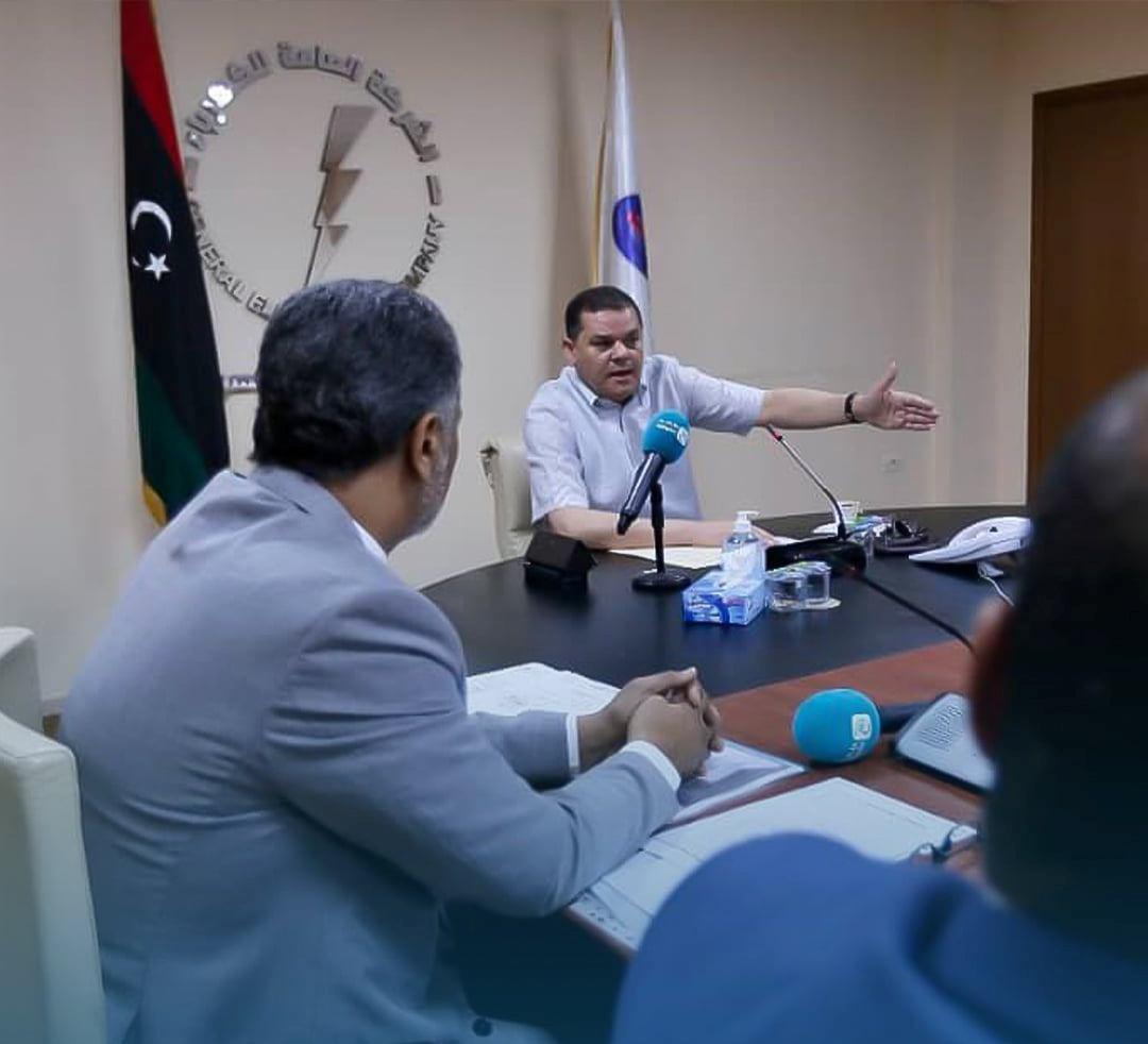 رئيس الحكومة الليبية