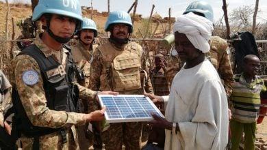 Photo of الأمم المتحدة تخطط لتقليل البصمة الكربونية في عمليات حفظ السلام