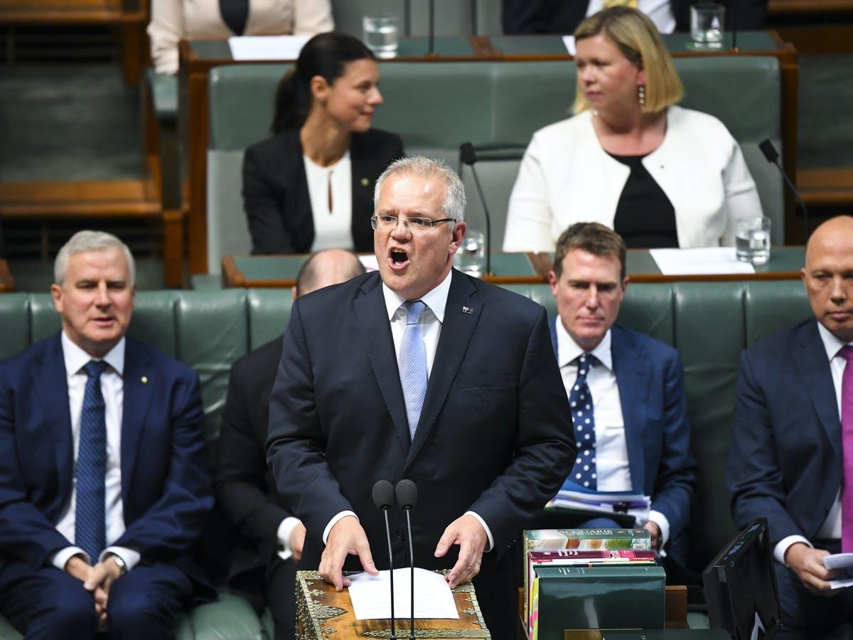 مجلس الشيوخ الأسترالي - أستراليا - موريسون
