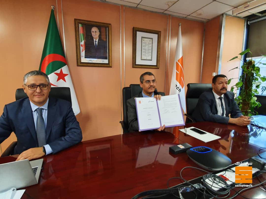 سوناطراك الجزائرية