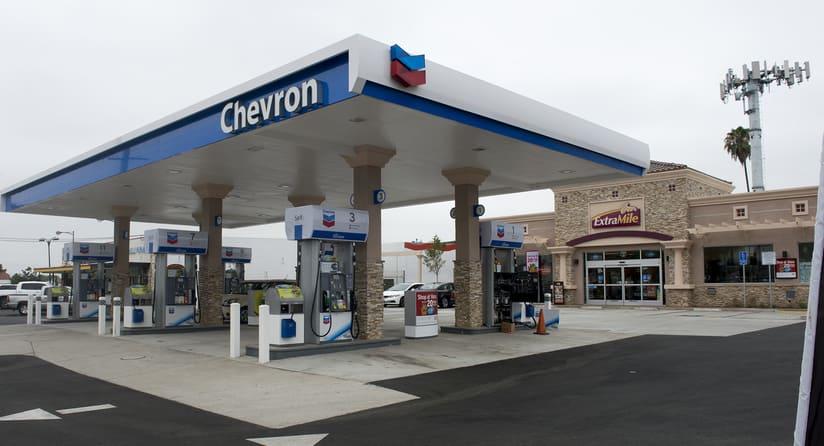 شيفرون- الغاز الطبيعي المضغوط