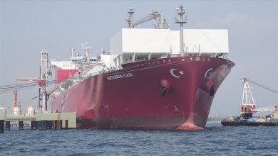 Photo of تركيا.. أول سفينة لتغويز الغاز الطبيعي المسال تبدأ مهامها