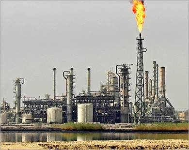حقول الغاز في العراق