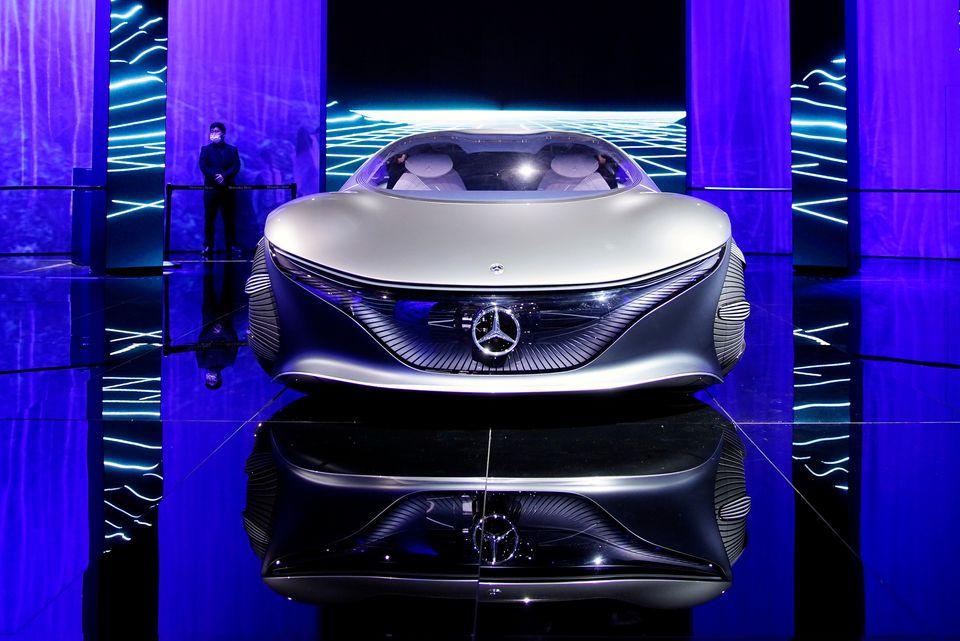 سيارة مرسيدس بنز الجديدة - دايلمر