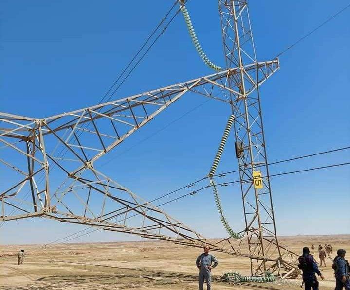 عبوة ناسفة - استهداف أبراج الكهرباء في العراق