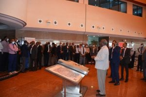 شركة الخريف السعودية - جانب من جولة ولقاءات وزير الطاقة السوداني
