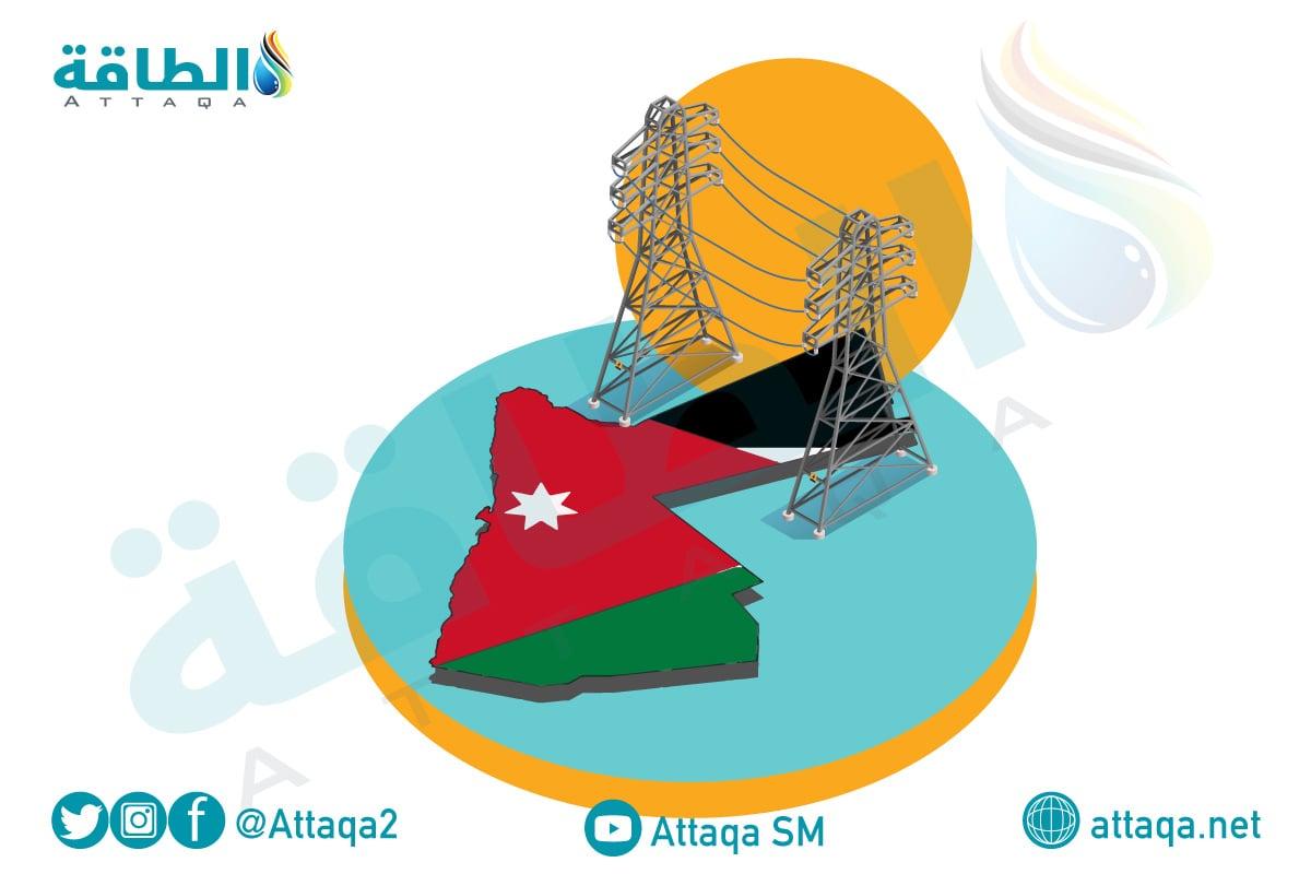 الكهرباء في الأردن