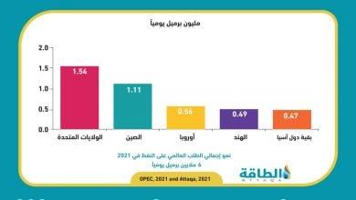 Photo of أوبك تتوقع نموًا قويًا للمعروض النفطي من خارجها.. ونظرة متفائلة بشأن الطلب (تقرير)
