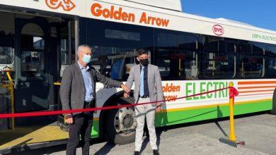 "Photo of ""غولدن أرو"" تطلق حافلتين كهربائيتين في جنوب أفريقيا"